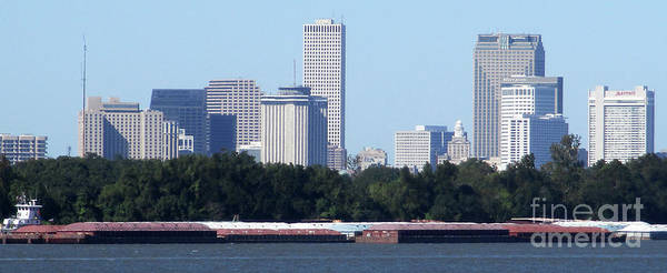 Wall Art - Photograph - New Orleans Skyline by Randall Weidner
