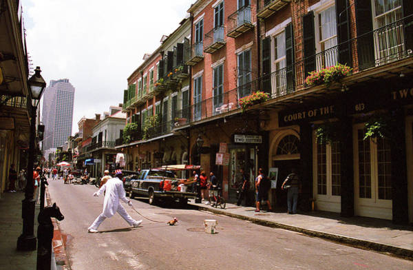Photograph - New Orleans Street Performer 2004 by Frank Romeo