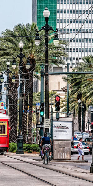 Photograph - New Orleans Streetcars Triptych 2 by Andy Crawford