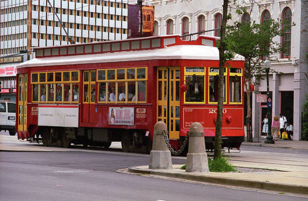 Photograph - New Orleans Trolley 2004 by Frank Romeo