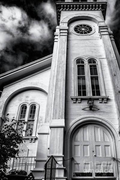 New Preston Ct Photograph - New Preston Congregational Church by Grant Dupill