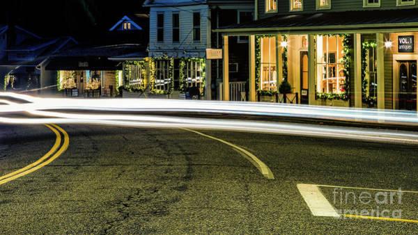 New Preston Ct Photograph - New Preston Light Trails by Grant Dupill