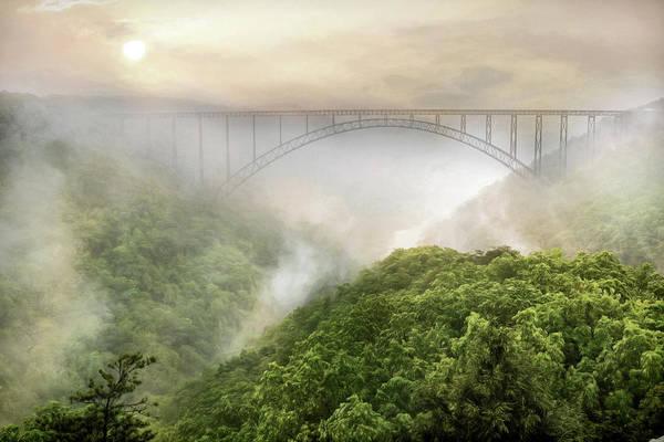 Fayetteville Photograph - New River Gorge Bridge by Lori Deiter