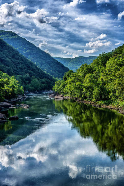 Photograph - New River Gorge National River 3 by Thomas R Fletcher