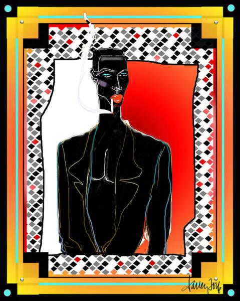 Digital Art - Amazing Grace Jones by Larry Talley