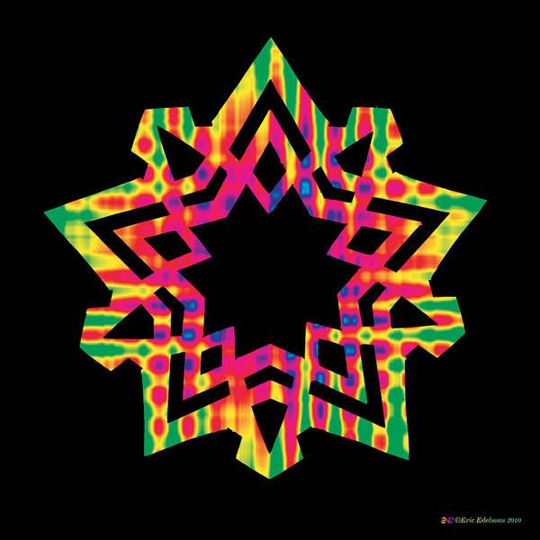 Digital Art - New Star 5 by Eric Edelman
