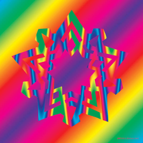 Digital Art - New Star 5c by Eric Edelman