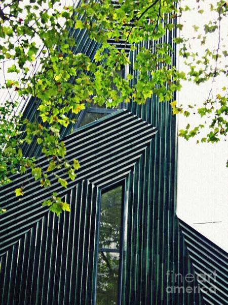 Shofar Wall Art - Photograph - New Synagogue Mainz 2 by Sarah Loft