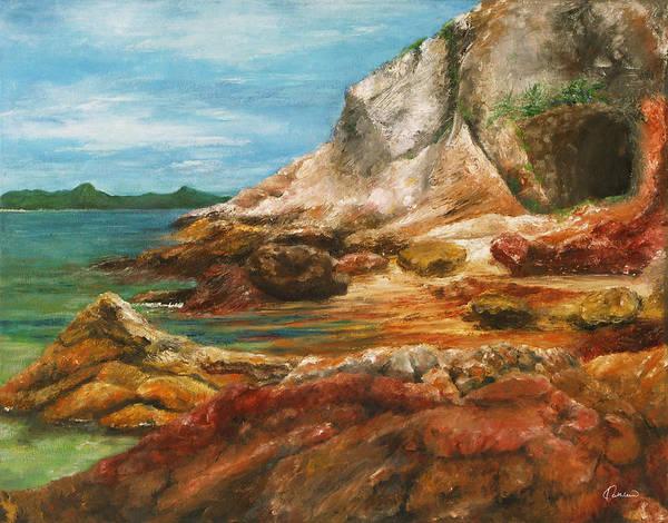 Territory Painting - New Territories Hong Kong by Kathleen Wong