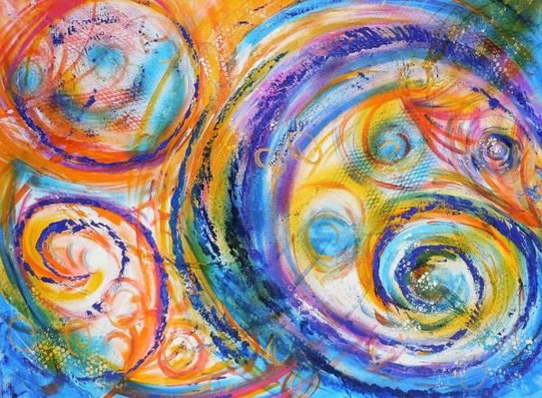 Painting - New Universe by Deborah Brown Maher