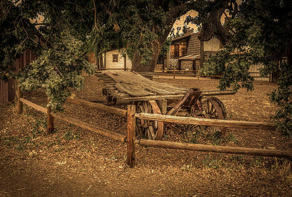 Photograph - End Of The Trail - Paramount Ranch by Gene Parks