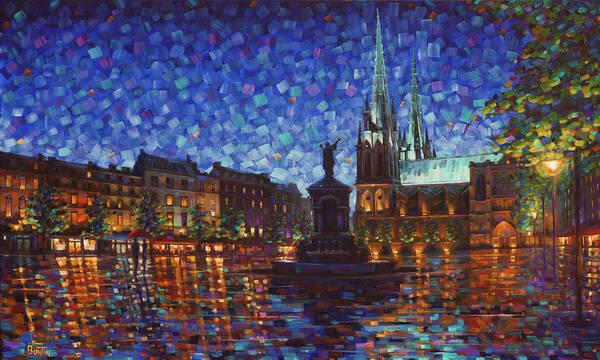 Painting - Place De La Victoire by Rob Buntin