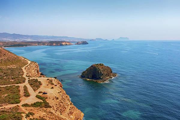 Photograph - The Blue Mediterranean Coast by Tatiana Travelways