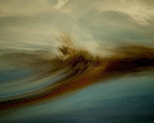 Bailey Digital Art - New Wave by Lonnie Christopher