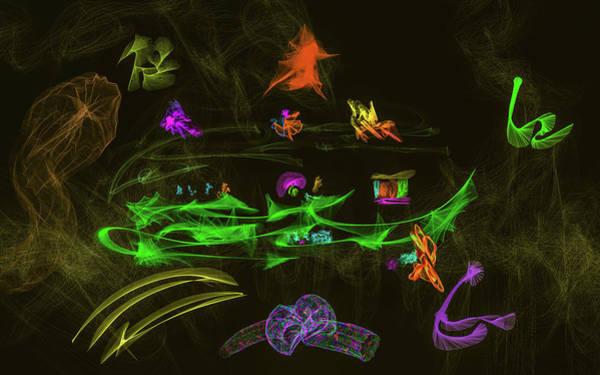 Digital Art - New Wold #g9 by Leif Sohlman