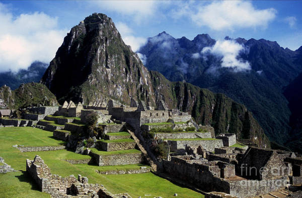 Photograph - New World Wonder Of Machu Picchu by James Brunker