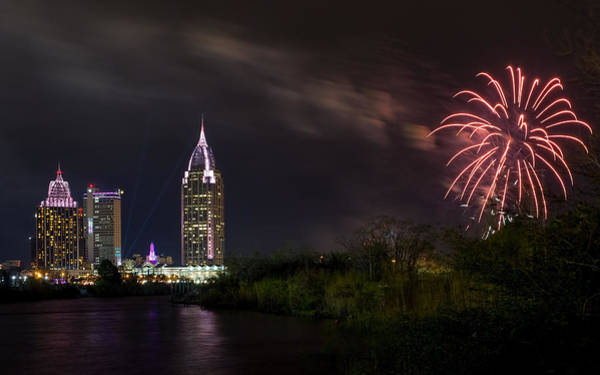 Photograph - New Year Celebration 3 by Brad Boland
