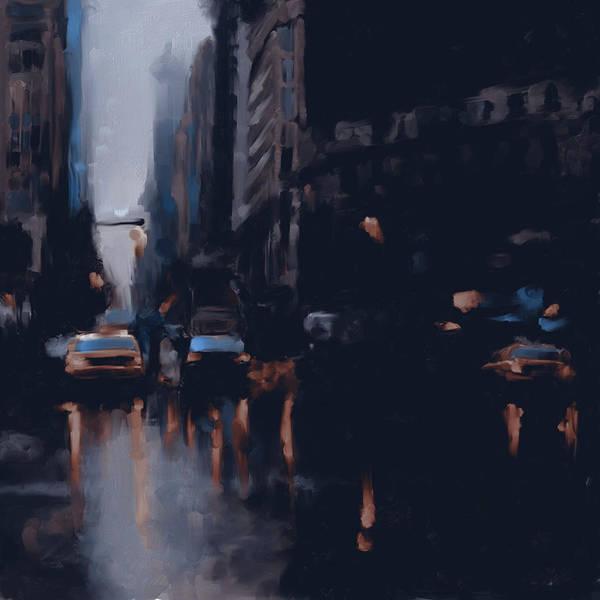 Chinatown Painting - New York 1 560 2 by Mawra Tahreem