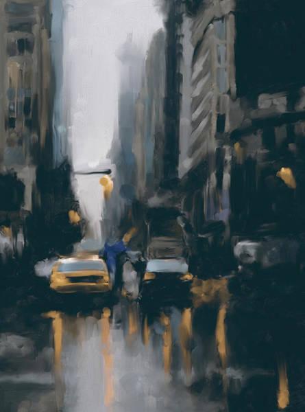 Chinatown Painting - New York 1 560 4 by Mawra Tahreem