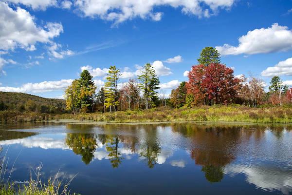 Photograph - New York Autumn Landscape by Christina Rollo