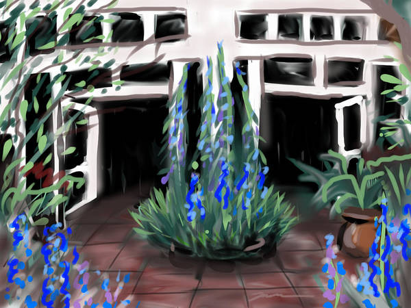 Painting - New York Botanical Garden by Jean Pacheco Ravinski