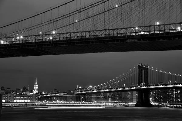 Photograph - New York Bridges by Clint Buhler