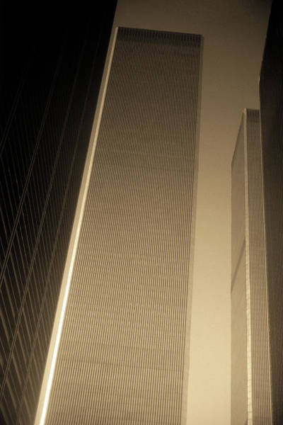 Photograph - New York City 1982 Sepia Series - #1 by Frank Romeo