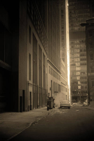 Photograph - New York City 1982 Sepia Series - #3 by Frank Romeo