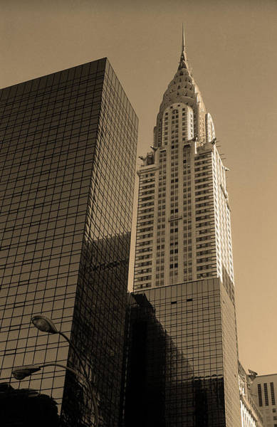 Photograph - New York City 1982 Sepia Series - #6 by Frank Romeo