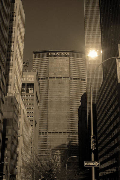 Photograph - New York City 1982 Sepia Series - #7 by Frank Romeo