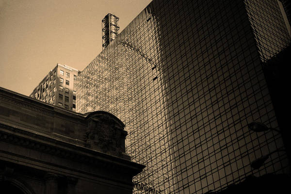 Photograph - New York City 1982 Sepia Series - #8 by Frank Romeo