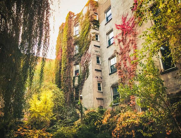 Wall Art - Photograph - New York City Autumn East Village by Vivienne Gucwa
