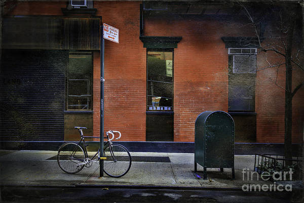 Photograph - New York City Bicycle by Craig J Satterlee