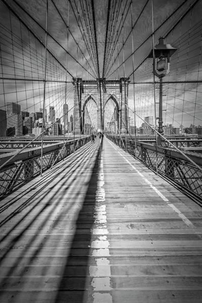 Wall Art - Photograph - New York City Brooklyn Bridge by Melanie Viola