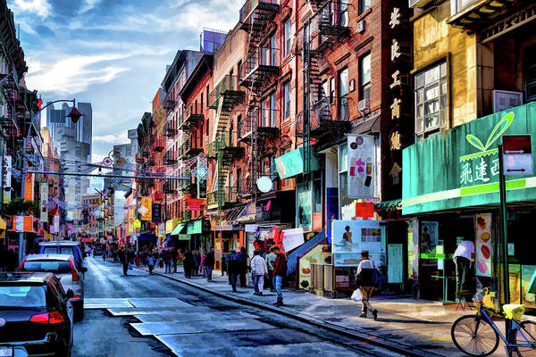 Painting - New York City Chinatown by Christopher Arndt