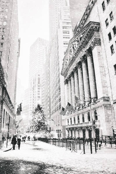 Wall Art - Photograph - New York City Christmas by Vivienne Gucwa