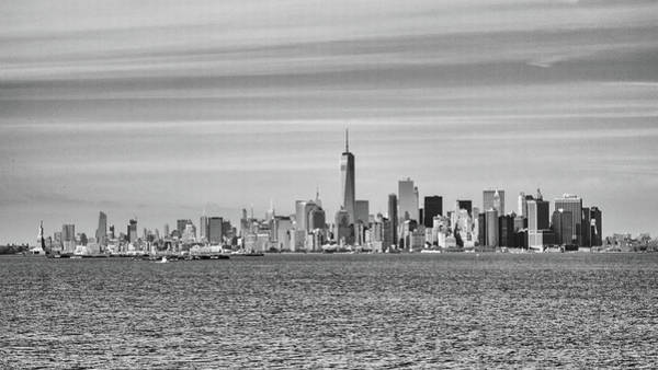Photograph - New York City From The Staten Island Ferry by Frank Morales Jr