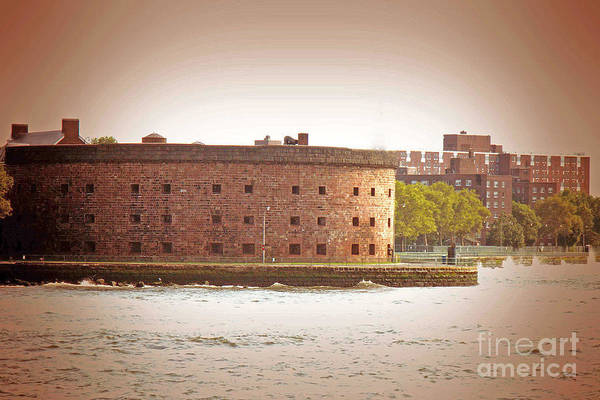 Italian Immigrants Wall Art - Photograph - New York City - Governer's Island by Luther Fine Art