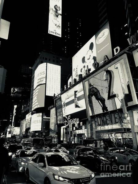 Photograph - New York City II by Robin Maria Pedrero