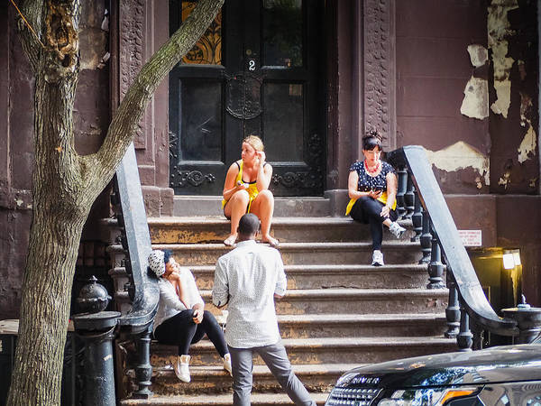 Photograph - New York City Porch by Robin Zygelman
