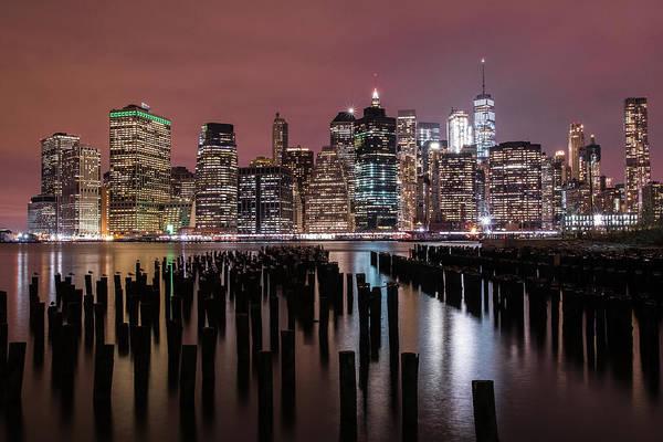 Photograph - New York City Skylight by Jesse MacDonald
