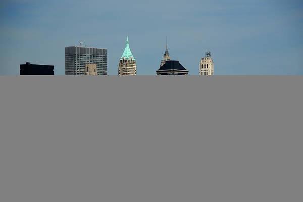 Photograph - New York City Skyline 5 by Frank Romeo