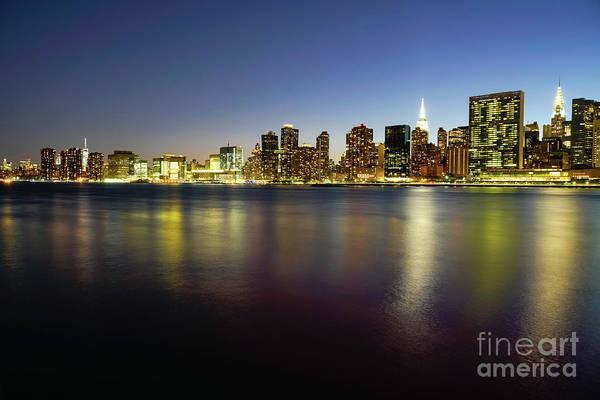 Wall Art - Photograph - New York City Skyline by DAC Photo