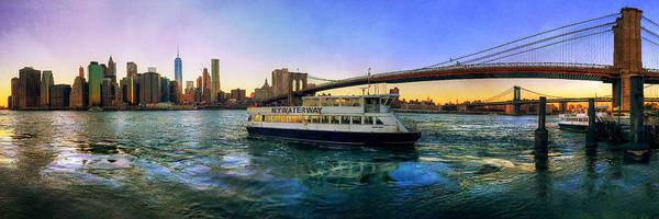 Photograph - New York City Skyline by Joann Vitali