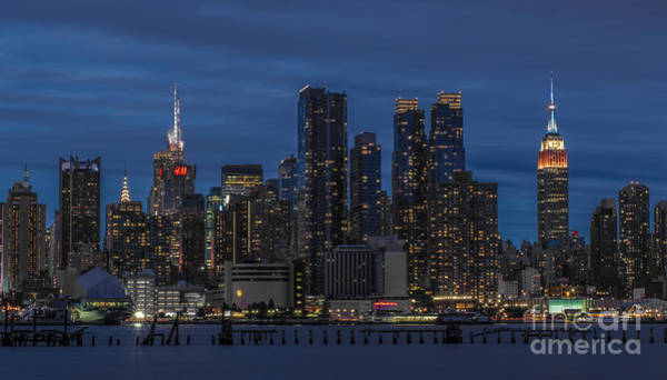 Wall Art - Photograph - New York City Skyline by Marco Crupi