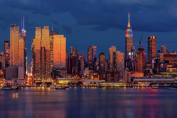 Photograph - New York City Skyline Pride by Susan Candelario