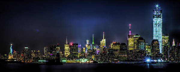 Photograph - New York City Skyline by Theodore Jones