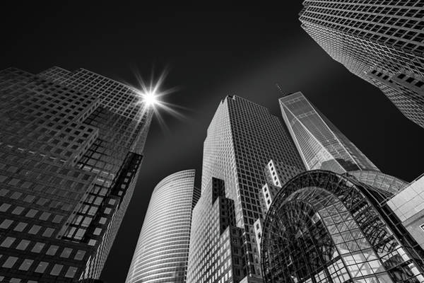 Photograph - New York City Skyscrapers by Mihai Andritoiu