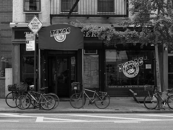Photograph - New York City Storefront Bw1 by Frank Romeo