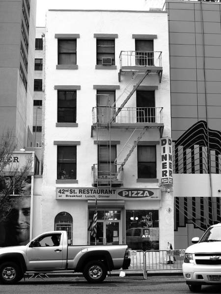 Photograph - New York City Storefront Bw5 by Frank Romeo